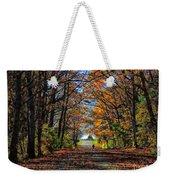 A Stroll Through Autumn Colors Weekender Tote Bag