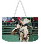 A Strong Bull Ride Weekender Tote Bag