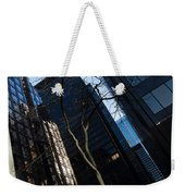 A Study In Contrasts - Downtown Toronto Miniature Park - Left Weekender Tote Bag