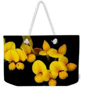 A Study In Yellow Weekender Tote Bag