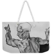 A Study Of Michelangelo Work Weekender Tote Bag