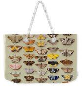 A Study Of Moths Characteristic Of Indo Weekender Tote Bag