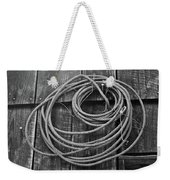 A Study Of Wire In Gray Weekender Tote Bag