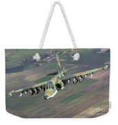 A Sukhoi Su-25s Of The Bulgarian Air Weekender Tote Bag