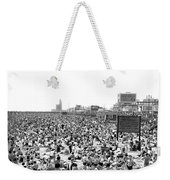 A Summer Day At Coney Island Weekender Tote Bag