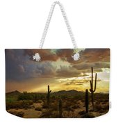 A Summer Evening In The Sonoran  Weekender Tote Bag