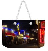 A Summer Night In Tarpon Springs Weekender Tote Bag