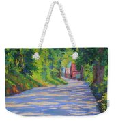 A Summer Road Weekender Tote Bag