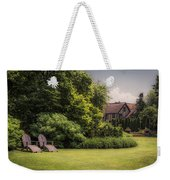 A Summer Sitting Place Weekender Tote Bag
