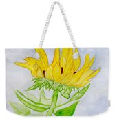 A Sunflower Blessing Weekender Tote Bag