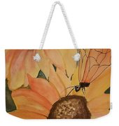 A Sunflower Surprise Weekender Tote Bag