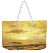 A Sunrise Over Oahu Hawaii Weekender Tote Bag