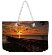 A Sunset At Spanish Wells Weekender Tote Bag