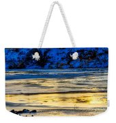 A Sunset In A River Of Ice Weekender Tote Bag