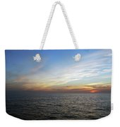 A Sunset On The Last Day At Sea Weekender Tote Bag