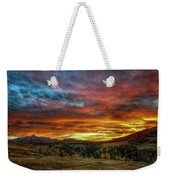 A Sunset To Remember Weekender Tote Bag