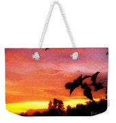A Sunset With A Different Mood Weekender Tote Bag