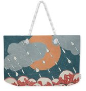 A Sunshine  Rain - Shower Weekender Tote Bag