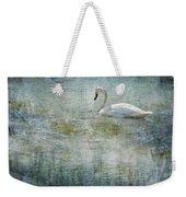 A Swan's Reverie Weekender Tote Bag
