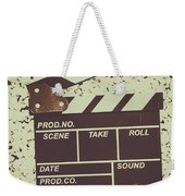 A Take From Old Hollywood Weekender Tote Bag