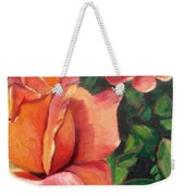 A Tale Of Two Roses Weekender Tote Bag