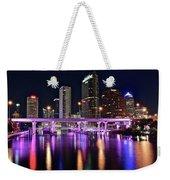 A Tampa Night Weekender Tote Bag