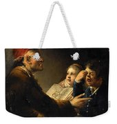 A Teacher And His Pupils Weekender Tote Bag