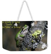A Terrific Frog #1 Weekender Tote Bag