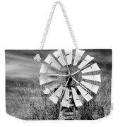 A Texas Windmill Weekender Tote Bag
