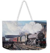 A 'thompson' B1 Class Moving Empty Stock On A Cold February Morning Weekender Tote Bag by David Nolan