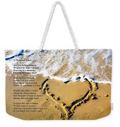 A Thousand Times Weekender Tote Bag