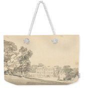 A Three Storied Georgian House In A Park Weekender Tote Bag