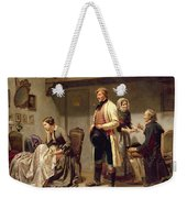 A Toast To The Engaged Couple Weekender Tote Bag