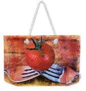 A Tomato Sketch Weekender Tote Bag