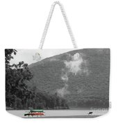 A Touch Of Color By The Lake Weekender Tote Bag