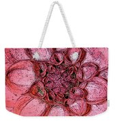 A Touch Of Coral Weekender Tote Bag