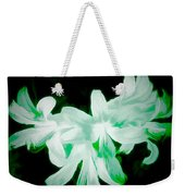 A Touch Of Green On The Lilies Weekender Tote Bag