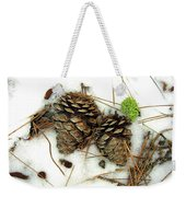A Touch Of Moss Weekender Tote Bag