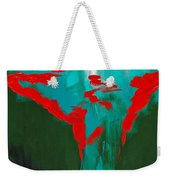 A Touch Of Red Weekender Tote Bag