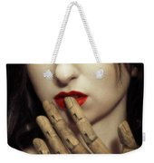 A Touch Of The Lips Weekender Tote Bag