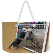 A Tough Sport - Use Red-cyan 3d Glasses Weekender Tote Bag