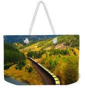 A Train Of Golden Grain  Weekender Tote Bag