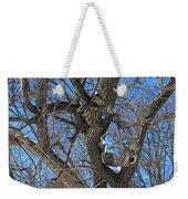 A Tree In Winter- Vertical Weekender Tote Bag