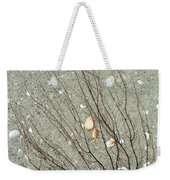 A Tree On The Beach - Sea Weed And Shells Weekender Tote Bag