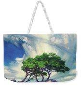 A Tree On The Seashore Reef Weekender Tote Bag