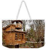 A Treehouse For All Seasons Weekender Tote Bag