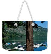 A Trees View Of Fallen Leaf Lake Weekender Tote Bag