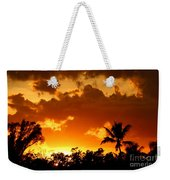 A Tropical Sunset Weekender Tote Bag