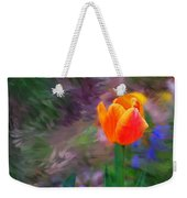 A Tulip Stands Alone Weekender Tote Bag