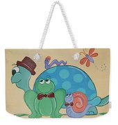 A Turtles Friends Weekender Tote Bag